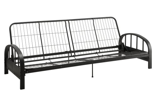 DHP 3273098 Aiden Metal Futon Frame Black