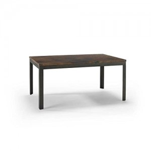 Homeware  Sawyer Copper Coffee Table with Hand Rubbed Weathered Iron Finish
