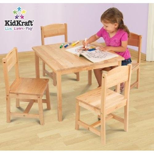 KidKraft Farmhouse Table and Chair Set Home Decoration Shop