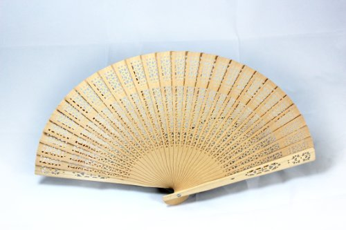 Dxhycc Sandalwood Fan (Set of 48 pcs) – Baby Shower Gifts & Wedding Favors