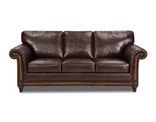 Lane Home Furnishings Soho Bonded Leather Loveseat, Red