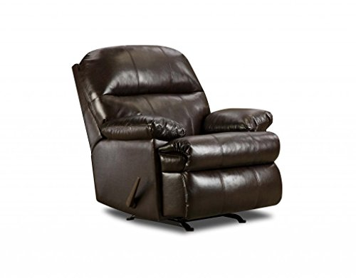 Simmons Upholstery U702-19 Riverside Vintage Bonded Leather Recliner