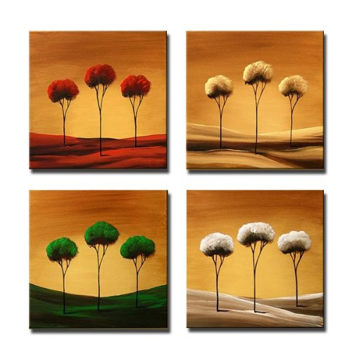 Wall Art - 4 Piece Canvas Wall Art