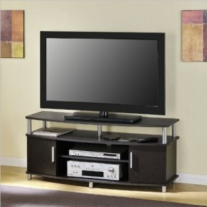 Ameriwood Home Carson TV Stand for TVs up to 50″ Wide (Espresso)