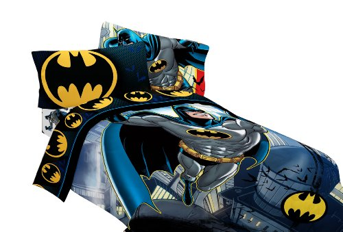 "Batman""from The from The Rooftop Sheet Set, Twin"