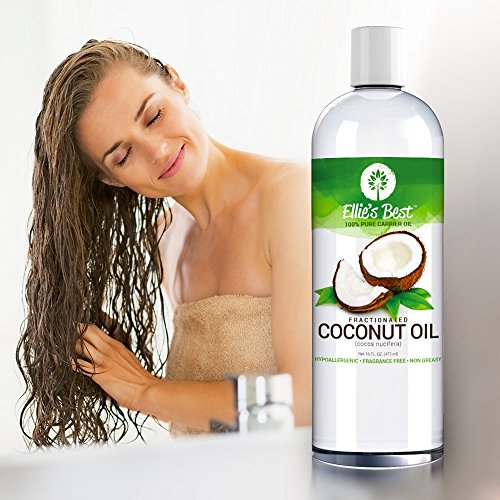 Fractionated Coconut Oil Pure Usa Expeller Cold Pressed