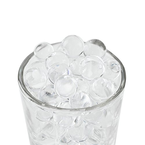 Super Z Outlet 1 Pound Bag Of Clear Water Gel Beads Pearls For Vase