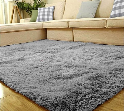 Silver Gray 80*120cm Living Room Floor Mat/cover Carpets Floor Rug Area Rug