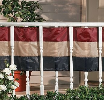 Americana Old Fashioned USA Flag Swag Bunting 20 Feet Long