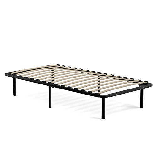 Handy Living Wood Slat Bed Frame Extra Long Twin Home