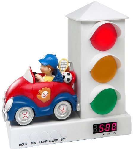 It's About Time Stoplight Sleep Enhancing Alarm Clock for Kids