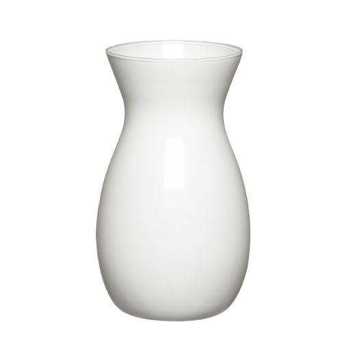 Syndicate Sales 8″ Jordan Vase, White