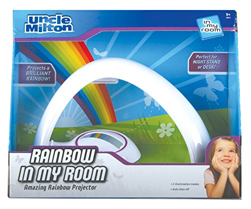 Rainbow In My Room Tabletop Décor Night Light Projector – Uncle Milton